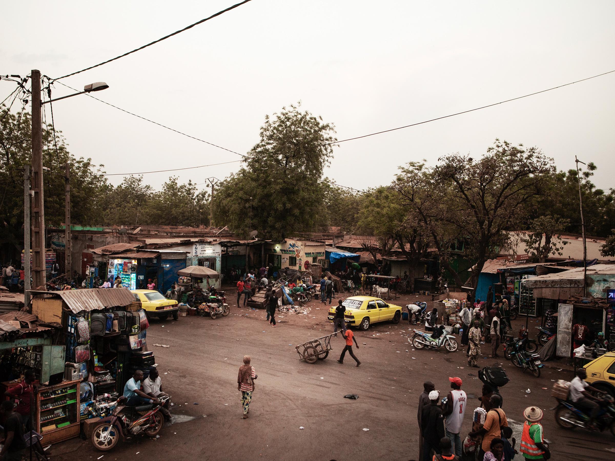 Bamako, estación central de migrantes