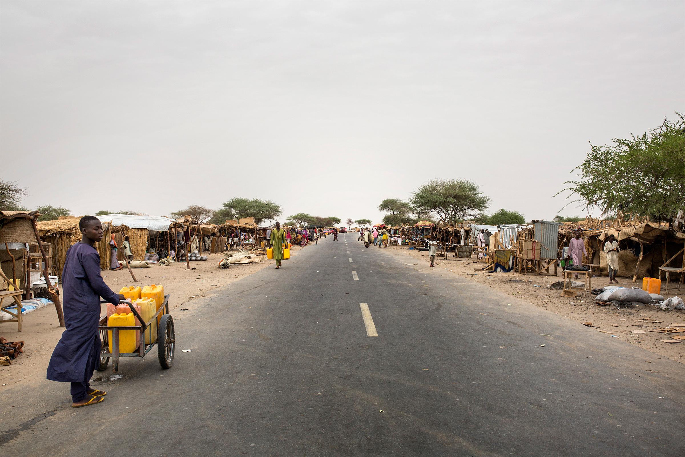 La carretera del miedo entre Níger y Nigeria