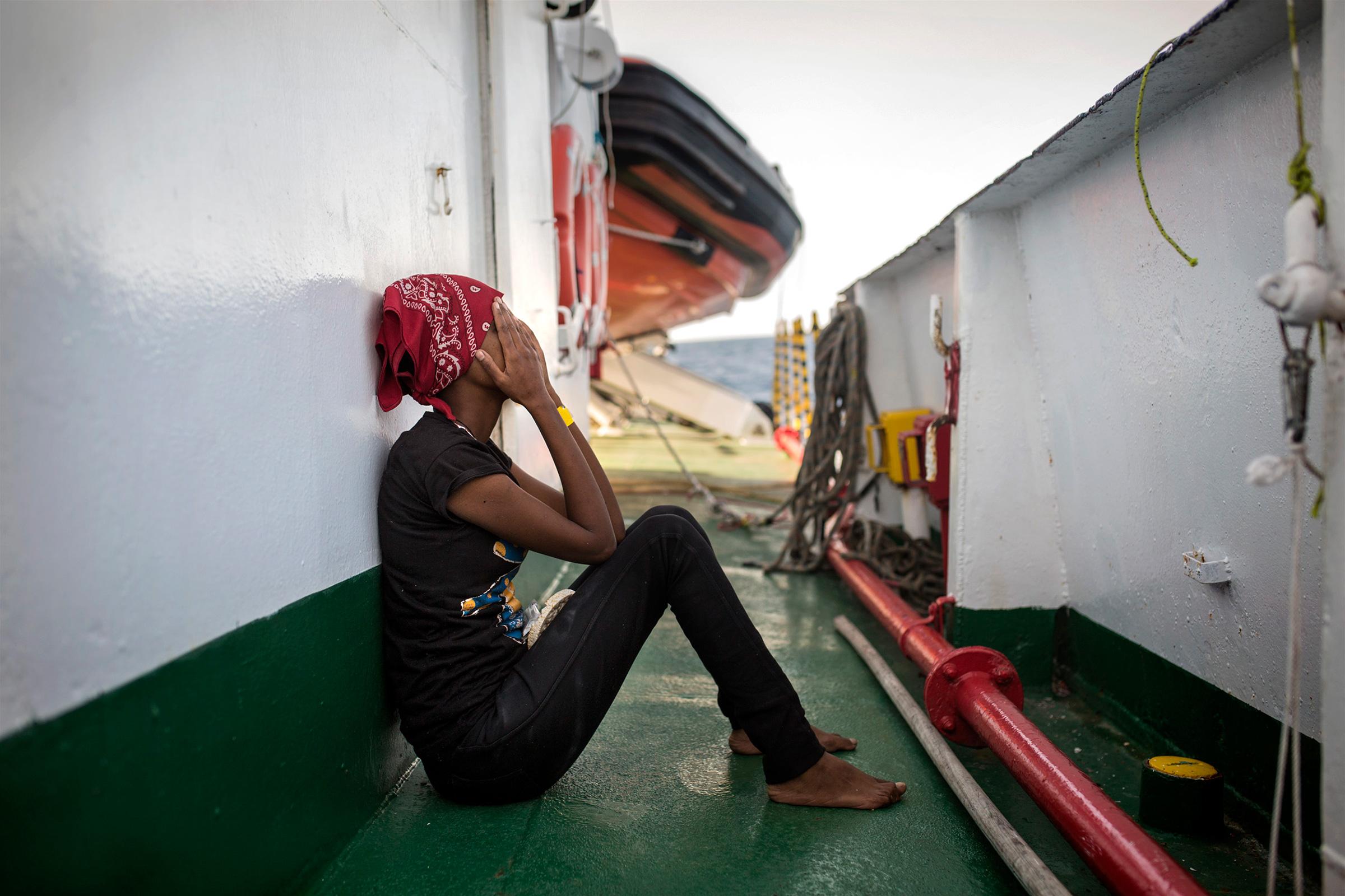 El barco de las mujeres rotas